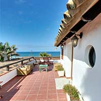 Holiday penthouse on the beach of Zahora , Canos de Meca